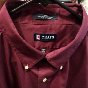 CHAPS Long sleeve Button up Shirt
